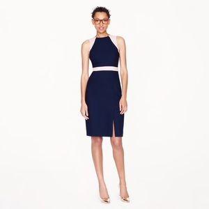 J. Crew Colorblock Gwen Dress